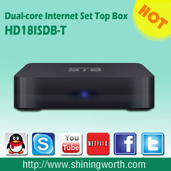 OEM/ODM manufacturer /Dual-core Android ISDB-T iptv set top box