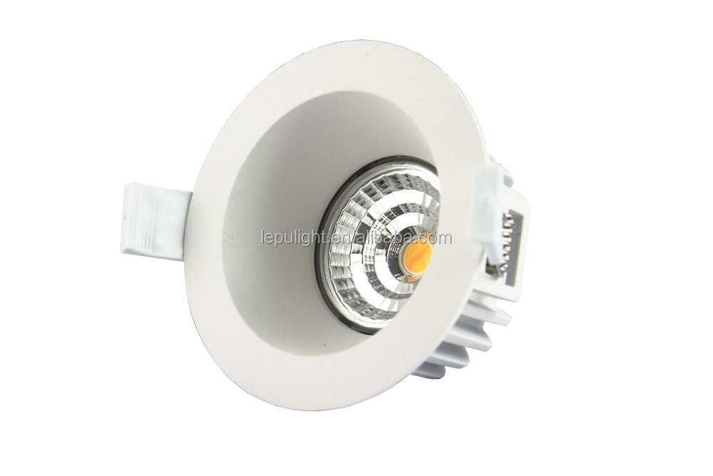 High Quality Anti-glare Low UGR 9W Led Recessed Down Light