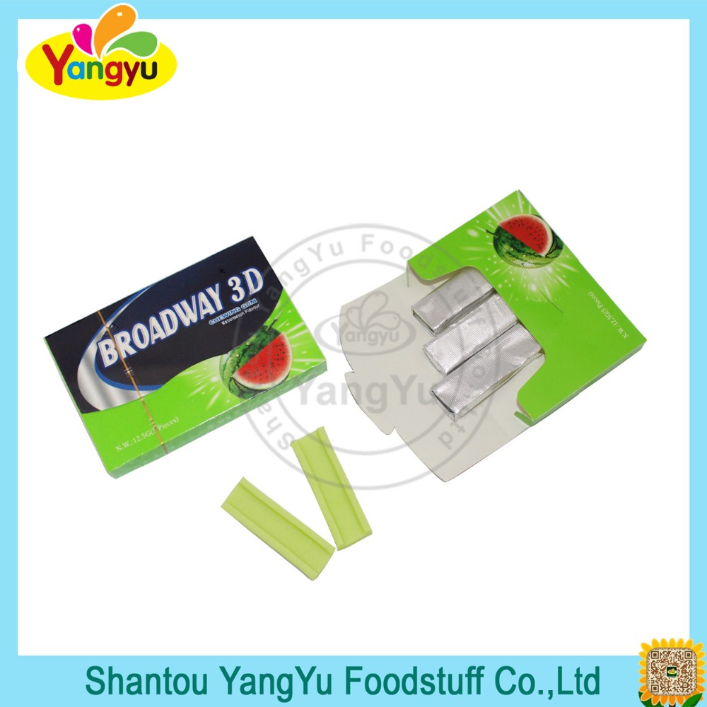 Good Quality Watermelon Chewing Gum