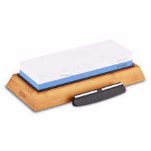 wholesale aluminum oxide two sided knife sharpening stone