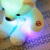 Cute plush bear toy for 20cm,LED plush toys,glow in the dark plush toy