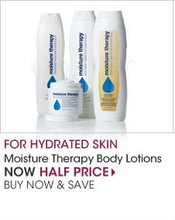 Moisture Therapy Body lotions