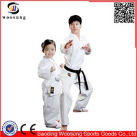 Wholesale martial arts uniforms white uniformes de karate
