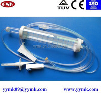 medical consumables china,iv burette set iv infusion fluids CE approved