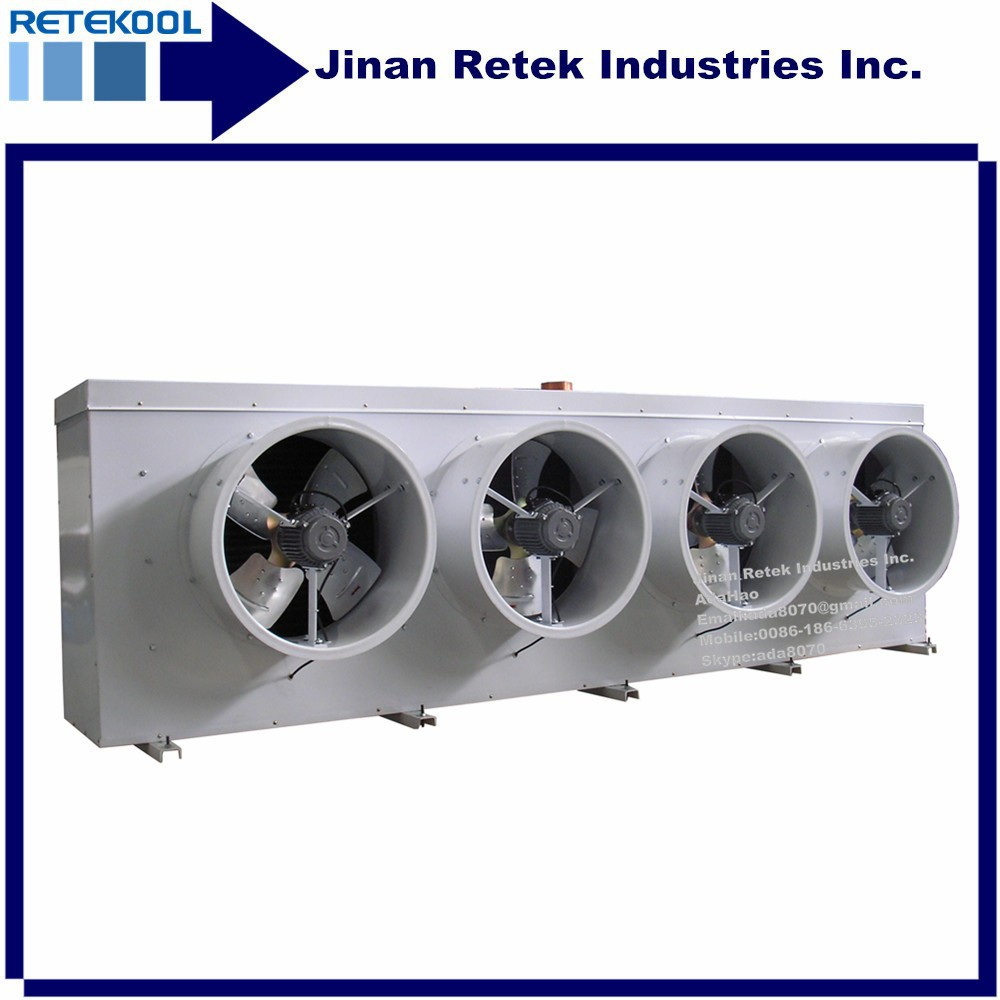 Less Energy Consumption Cold Storage 4 Fans Water Defrosting Air Cooler