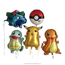 Hot selling children birthday party decoration hero Pikachu foil cartoon printed balloon