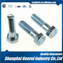 stainless steel m72 hex bolt grades 6.8 fishtail bolt