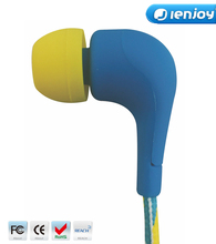 ienjoy silicone shoelace earphone rubber cover with mic