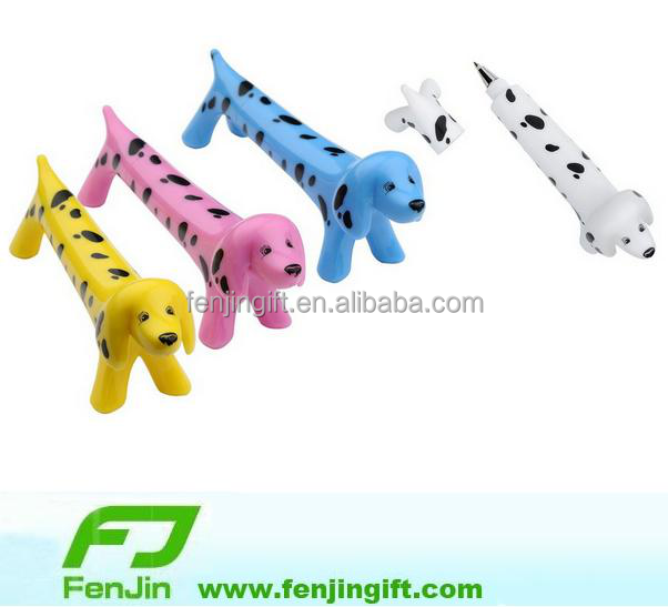 hot sale cut novelty dog shape ball pen