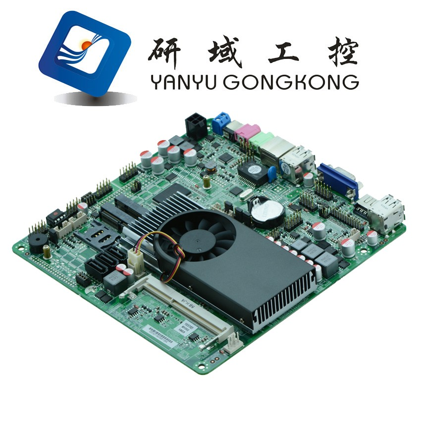 X86 Industrial thin motherboard car pc mainboard with Intel NM70 Chipset 4* USB2.0 1* VGA