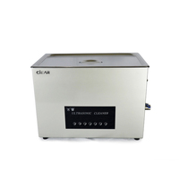30L table top ultrasonic cleaner for laboratory glassware and laboratory equipment