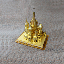 World famous architecture Vasily Church model Metal <strong>crafts</strong> hight quality