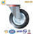 6 Inch Industrial Heavy Duty Rigid Caster Wheels With Roller Bearing