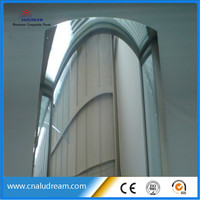 Mill finish Aluminum Composite Panel Material for subway station