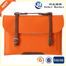 2015 new fashion Felt hang bag for shopping ,laptop