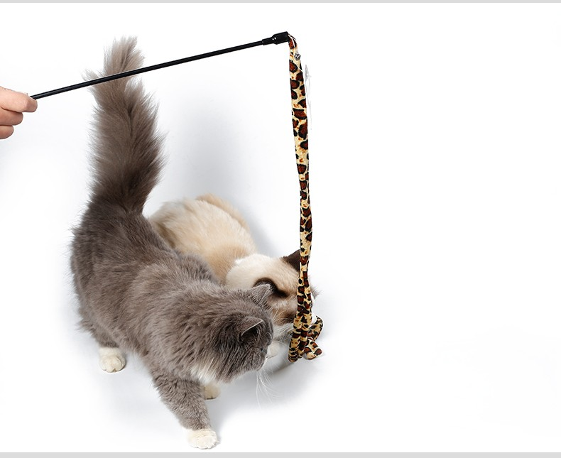 Cat Dangler Cat Teaser Dancer with Bell Pet Toy