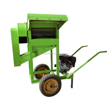 High capacity small rice threshing machine/paddy thresher making machine