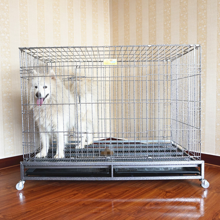 pet products cheap collapsible large animal crates small dog cages canada