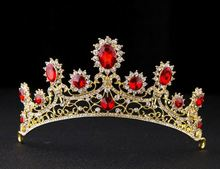 Colorful Rhinestone Beauty Pageant Cheap Princess Crown