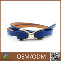 2016 Lady New Fashion PU cheap leather belt for sales