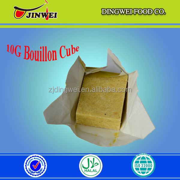 HALAL CHICKEN FLAVOUR STOCK CUBE FOR COOKING