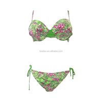 2016 OEM hot flower print girl swimwear fashion sexy sling bikini