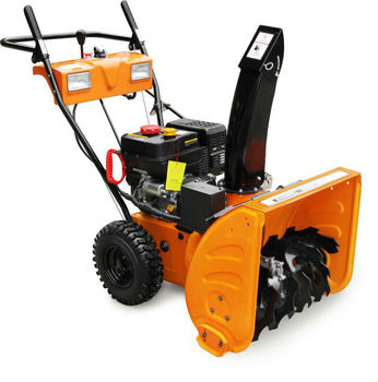 6.5HP Yard Snow Blower Cleaning Machine/Yard Snow Thrower Cleaner Machine With Electric Start