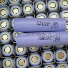 Gold Supplier !!!! Samsung 3.7V 3000mAh 18650 Rechargeable Batteries Samsung 18650 High Quality Electric Batteries