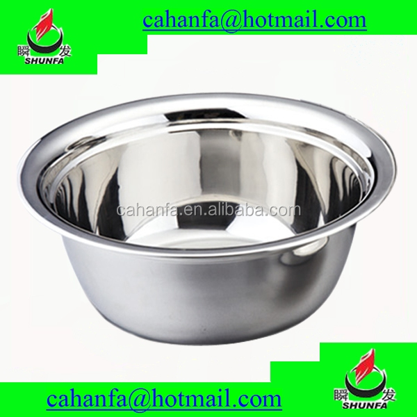 36cm Diameter Good Quality & Bright & More Thickness Stainless Steel Kitchenware/Stainless Steel Wash Basin