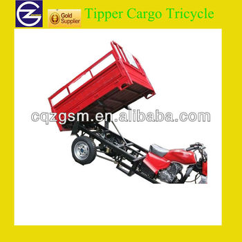 250cc hydraulic Tipper Tricycle for cargo