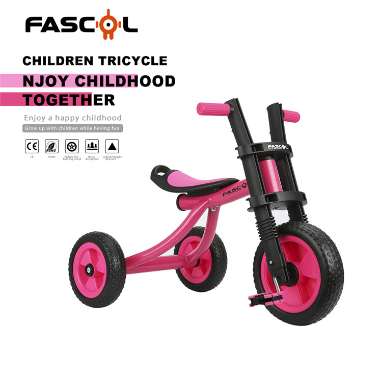 Alibaba Hot sale cheap metal kids 3 big wheel tricycle trike price /baby tricycle Wholesale