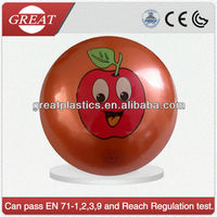apples plastic inflatable toy ball
