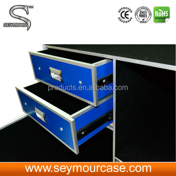 Flight Case For Audio Equipment Tool Box Refrigerator Cases Flight Case For Speakers