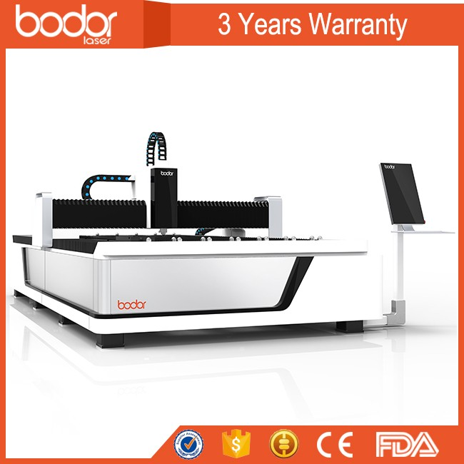 JINAN Bodor <strong>Laser</strong> 3 Years Warranty 500w 1000w 2000w 3000w Metal Fiber <strong>Laser</strong> Cutting Machine with CE FDA SGS ISO9001 Certificate