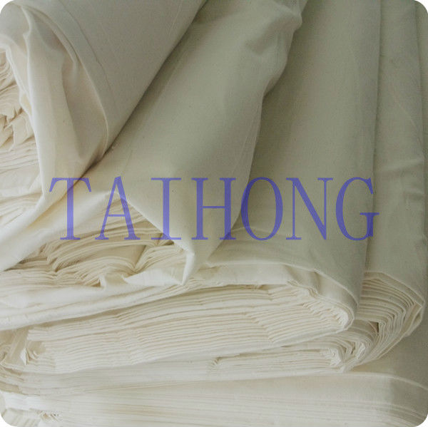 2017 cotton plain weave Optical white Calico fabric