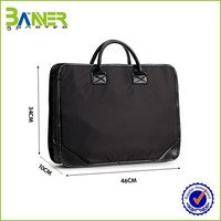 Personalized Design Black laptop bag briefcase 18""