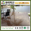 2016 hot sales Outdoor crack-resistant plastic wood plank anti-uv wpc board