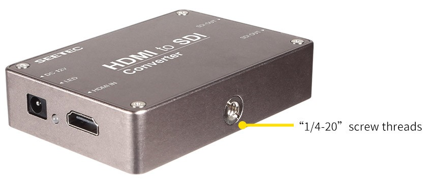 Chinese supplier hdmi to bnc converter supports 1080p maximum 100 meter 3G-SDI transmission