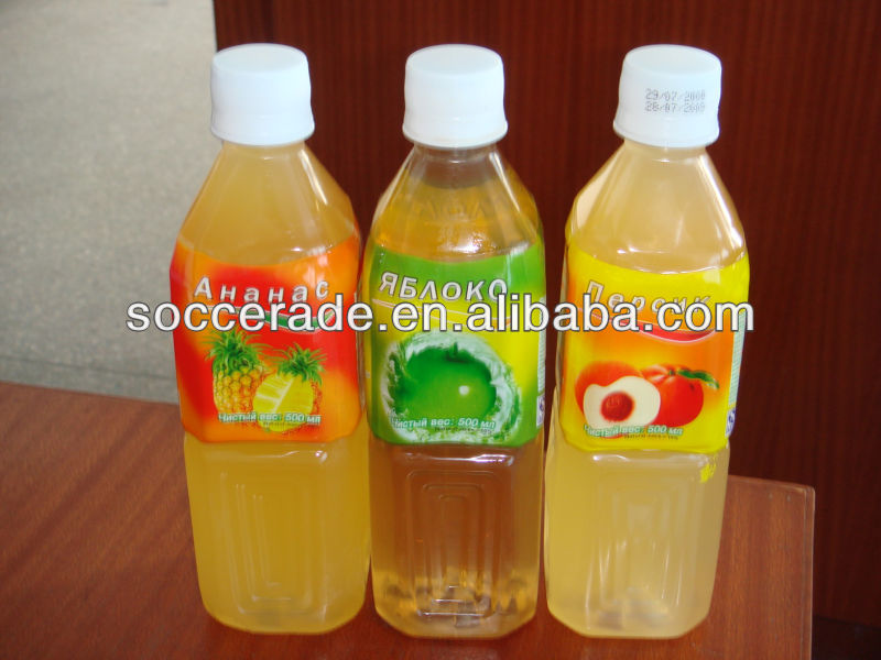 Aloe vera drink with natural juice