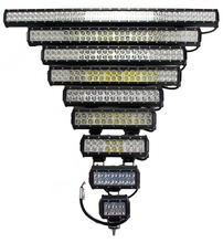 HP CHIPS High Performance double row lightbar 12 volt led light off-road and cars