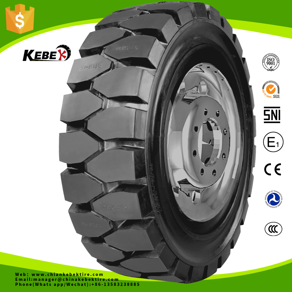 Wholesale solid tyre forklift tyre 6.00-9 5.00-8 7.00-12