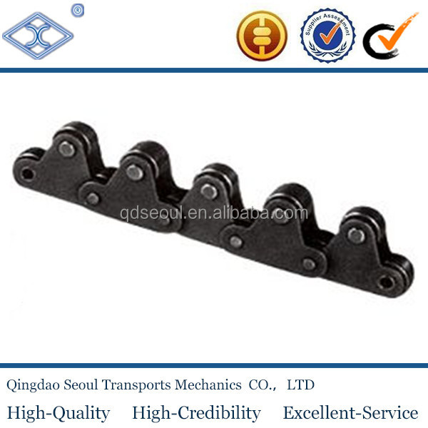 C2060-1LTR pitch 38.1 high speed double pitch top roller conveyor chain