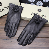 Women Gloves for Cold Weather Keeping Warm Made by All Imported Leather