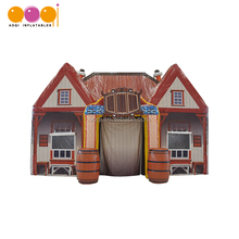 Outdoor party tent house inflatable bar pub tent for advertising