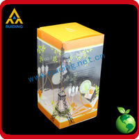 customer design Clear cosmetic box cosmetic container toner and cartridge