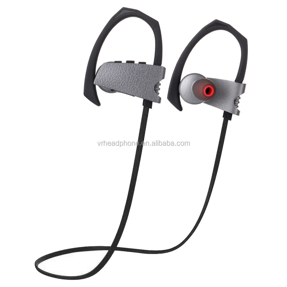 Sports Stereo Wireless Bluetooth Headset with Built-in Mic for Running