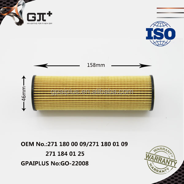 High Quality Car Oil Filter from GPAIPLUS