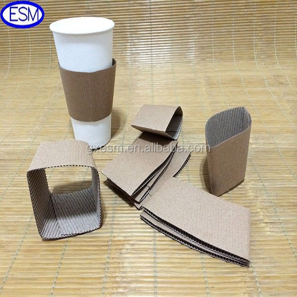promotional man made black coffee sleeve cup sleeve