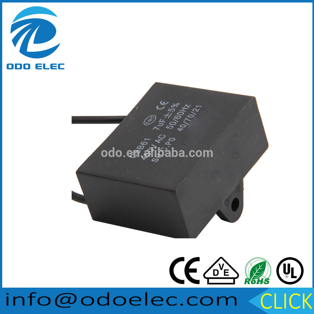 ODOELEC 2018 New capacitor cbb61 with SGS certificate