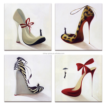 Animals Coat High Heel Canvas Wall Art Painting Prints for Shoes Shop Wall Decorate <strong>Pictures</strong> for Woman Dress Room Decor